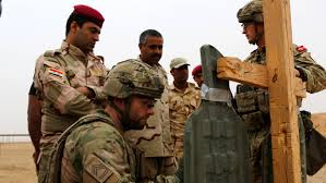 Dts Army Help Desk U S Marines Royal Danish Army Instructs Iraqi Soldiers In The