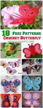 139 best crochet butterflies images on pinterest butterflies