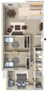 Briarwood Homes Floor Plans 1 2 U0026 3 Bedroom Apartments In Prospect Heights With Maple