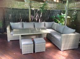 Wooden Outdoor Lounge Furniture Furniture Outdoor Furniture Evolution Dining Out In Comfort With