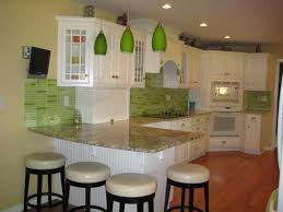 Beautiful Green Glass Backsplash Tile Photos Home Decorating - Green glass backsplash tile