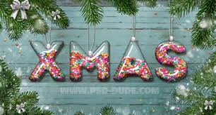 colorful christmas text effects photoshop tutorials photoshop