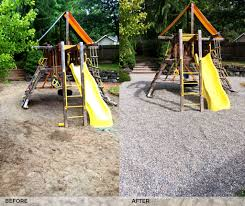 pea gravel and sand for playgrounds in tacoma wa