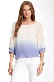 ombre blouse gypsy05 silk ombre blouse nordstrom rack