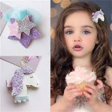 girl hair accessories unicorn hair hairpins hair accessories for kids