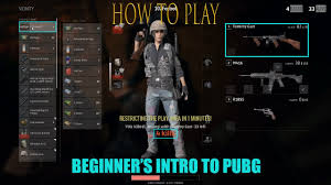 pubg how to play basic how to play pubg player unkown s battle ground youtube