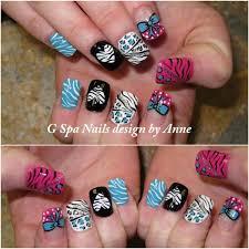 fashioned cheetah design on nails model nail ideas