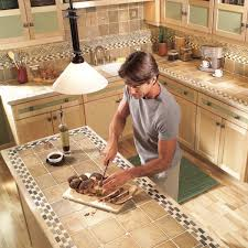 how to cut tile around cabinets installing tile countertops ceramic tile kitchen