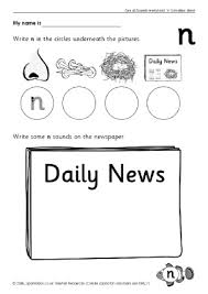 letter n phonics activities and printable teaching resources