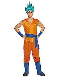Dragon Ball Halloween Costumes Kids Goku Costume Dragon Ball Resurrection Spirithalloween