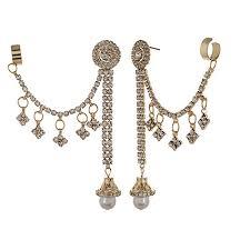 stylish earrings 80 on shining stylish party wear ear cuffs earrings for