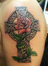 celtic cross tattoos inkdoneright