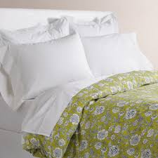 indira green floral duvet cover world market