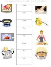 all worksheets cooking worksheets free printable preeschool