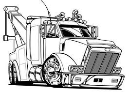 tractor trailer coloring pages 11 best truck ideas images on pinterest semi trucks candy