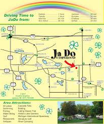 Local Map Ja Do Campground In Tipton Michigan
