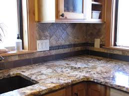 slate backsplash tiles for kitchen pros and cons of a tumbled slate tile backsplash home design
