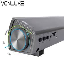 speakers for home theater aliexpress com buy vonluxe bluetooth speakers for the computer