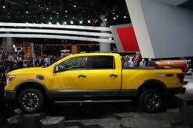 yellow nissan truck 2016 nissan titan detroit 010 u2013 car24news com