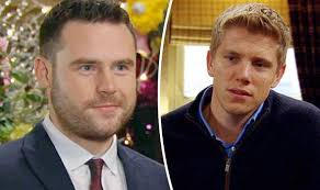 emmerdale season series dvd emmerdale spoilers robert and aaron for weird christmas drama