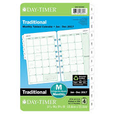 amazon black friday 2017 movie calendar amazon com day timer monthly planner refill 2017 two page per