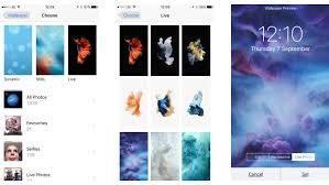 how to change the wallpaper on ipad or iphone macworld uk