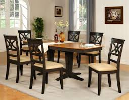 Dining Room Table And Chairs Cheap by Fancy Retro Black Dining Table And Chair Latest Home Furniture