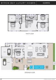 elevation byron bay luxury homes floor plan