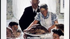 what is norman rockwell s thanksgiving picture really about big