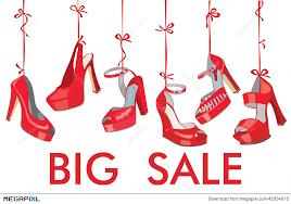 ribbon for sale fashion women s shoes hang on ribbon big sale illustration