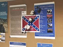 Us Confederate Flag American University Finds Confederate Flag Signs Posted After Anti