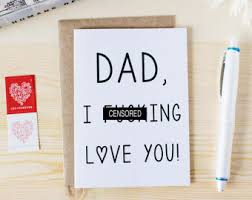 funny father u0027s day card funny card for baby daddies
