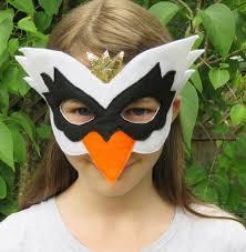 crow mask halloween felt swan mask bird mask masquerade swan costume mardi