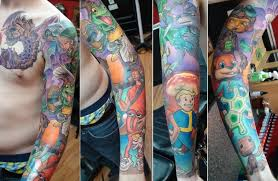 black lotus tattoo arizona i see your gaming forearm and raise you by halo now of black