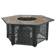 slate fire pit table fire pit slate fire pit table steel deep bowl in oil rubbed bronze