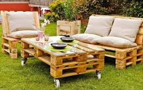 Outdoor Furniture Made From Wood Pallets Garden Furniture Made From Pallets Pallet Idea