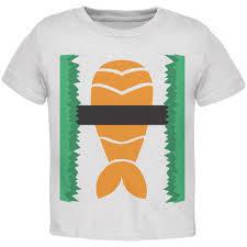halloween toddler shirt halloween sushi costume 1 toddler t shirt sushi costume and products