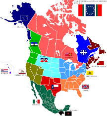 Midwest America Map by Map Of North American Empire By Lamnay On Deviantart