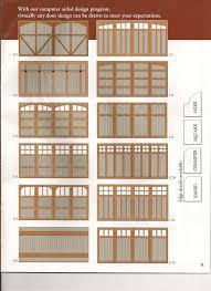 Garage Door Designs Standard Garage Door Designs Nevada Overhead Door