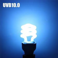 reptile fluorescent light fixtures reptile 5 0 10 0 uvb 13w compact light fluorescent desert terrarium