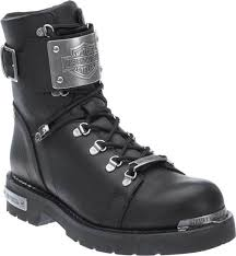 motorcycle footwear mens harley davidson men s sewell black leather motorcycle boots d96125