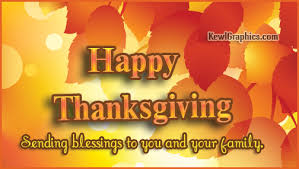 sending blessings you and your family thanksgiving graphic plus