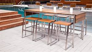 Modern Line Furniture by Modern Outdoor Dining Table Kobe Table