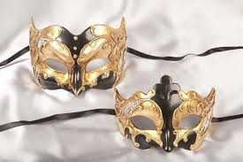 couples masquerade masks joker giglio gold couples masquerade masks ebay