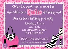13 best diva invitations images on pinterest birthday party