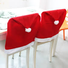 santa chair covers santa claus chair cover 2 set the supply store