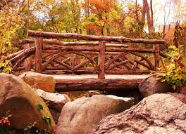rustic bridge foot bridges pinterest bridge gardens and