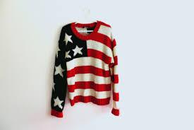 American Flag Cardigan American Flag Red Sweater Shop For American Flag Red Sweater On