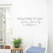 personalised wall stickers and decals wallboss wall stickers family wall sticker