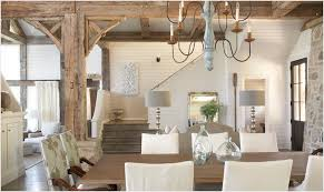 cottage style dining rooms rustic wood beams cottage dining room tracery interiors